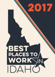 Best Places to Work in Idaho 2017 Logo